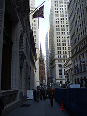 Wall Street Is Always Crowded With People