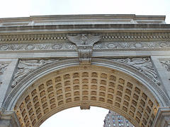 The Arch At Washington Square Park, The Scene Of Many Movies And Music Videos
