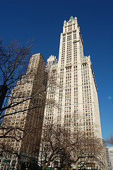 The Woolworth Building, One Of New York City's Most Famous Skyscrapers.