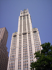 One Of The Oldest Skyscrapers, Woolworth Building Was Financed With Cold Hard Cash.