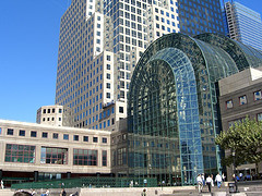 A Photo Of The World Financial Center Taken From The Plaza