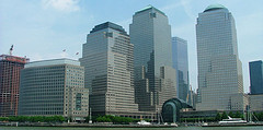 World Financial Center, Is Located In Lower Manhattan, New York City. Its Height 577 Ft. 40 Stories High.