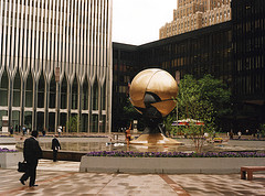 Another Day In The Plaza At The World Trade Center, Before 9/11