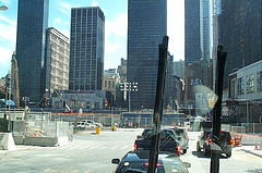 Work Still Continues At The World Trade Center Site. Some Day Something Will Rise Again.