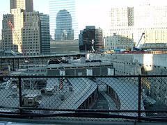 World Trade Center Site In Lower Manhattan From A Viewing Platform