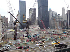 World Trade Center Site Eight Years Later.