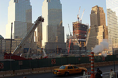 A Picture Of The Great Task Happening To Rebuild The World Trade Center Site