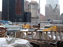Clean Up After The Tragedy At The World Trade Center Site