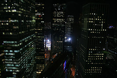 Gorgeous Skyline Of The World Trade Center Site At Night