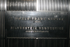 The World Trade Center Site, Which Was Destroyed November 11th, 2001.