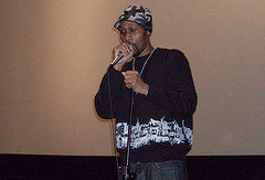 A Wu-tang Member Speaking At A Gft Event