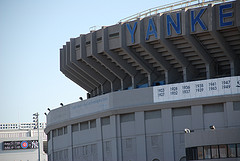 A Photo Of Yankee Stadium Oddly Calm