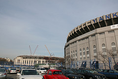 A New Yankee Stadium Rising Up In Honor And Style Of The Older Stadium.