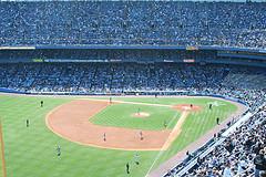 Yankee Stadium On Game Day.